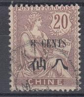 +D3420. China 1907. Yvert 78. Cancelled - China (1894-1922)