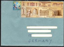 Serbien 2014  Brief / Letter/ Lettre  Europa ,  MiNr. 548 , 577, 578, 579 ; Nikolaj Krasnow, Architekt - Serbien