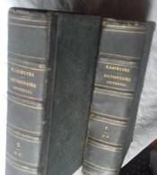 Dictionnaire Universel Dechartre   2 Tomes 1873 - Dictionnaires
