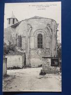 17 DAMPIERRE Sur BOUTONNE : CHOEUR De L'EGLISE , C.P.A.,carte En Bon état - Dampierre-sur-Boutonne