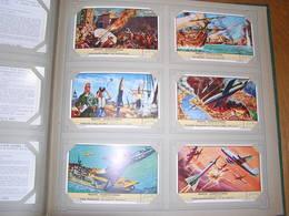 REACTIE VOORSTUWING Aéronautique Liebig Série Reeks 6 Chromos Nederlandse Taal Trading Cards Chromo - Liebig