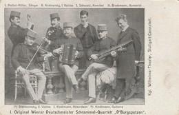 "Kgl. Wilhelma-Theater, Stuttgart-Cannstatt - Original Wiener Deutschmeister Schrammel-Quartett "" D'Burgspatzen"" - Stuttgart"