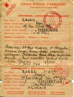 VERSAILLES. 1944. Message Par La Croix Rouge Française Pour CONSTANTINE (Algérie) - 1939-45