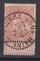 N° 57 Défauts HAINE SAINT PIERRE - 1893-1900 Schmaler Bart