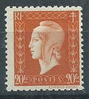 Timbre Type Marianne De Dulac Yvt 700 Neuf** - 1944-45 Maríanne De Dulac