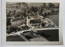 Carte Avec Photographie église Cimetière Trun Chambois Orne 61 - Trun
