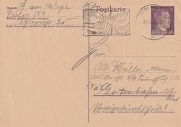 """Deutsches Reich / 1944 / Masch.-Stempel Berlin """"Jugend Aufs Meer"""" Auf Postkarte (4070) - Deutschland"""