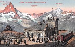 Gornergrat Bahnhof - Zermatt - Kulmhotel - VS Valais