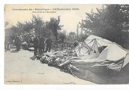 TREVOL (03) Accident Du Dirigeable République Partie De L'enveloppe - Autres Communes