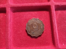 EGITTO 5 Milliemes 1943 - Egypt