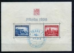 1938 - Michel: 398-399 Block 4 - Cancelled - Gebraucht