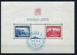 1938 - Michel: 398-399 Block 4 - Cancelled - Usados