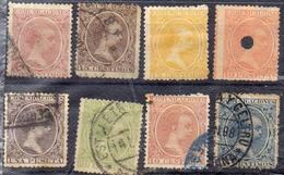 ESPAGNE !  Timbres Anciens Et De SERVICE Depuis 1890 ! NEUFS - Cuba (1874-1898)