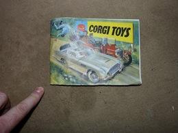 Petit Catalogue Avec Tarif Corgi Toys 1965 James Bond 007 Cirque Van VW Pompier Tracteur Etc Etc - Autres Collections