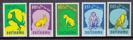 Suriname MNH NVPH Nr 794/98 From 1977 / Catw 5.00 EUR - Suriname