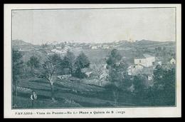 ALIJÓ - FAVAIOS - Vista Do Poente - No 1º Plano A Quinta De S. Jorge ( Ed. Tip. Nogueira & C.ª Lda) Carte Postale - Vila Real