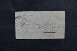 FRANCE - Lettre En PP De Dieuze Pour Un Soldat à Paris Et Redirigé Vers Le Fort De Montrouge En 1848 - L 49869 - Marcophilie (Lettres)