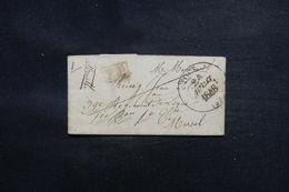 FRANCE - Lettre En PP De Toul Pour Un Soldat à Marsal En 1848 - L 49870 - 1801-1848: Precursors XIX