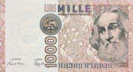 Italy 1.000 Lire, P-109b (6.1.1982) - UNC - [ 2] 1946-… : Républic