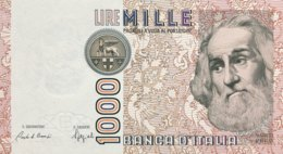 Italy 1.000 Lire, P-109b (6.1.1982) - UNC - [ 2] 1946-… Republik