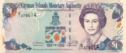 Cayman Islands 1 Dollar, P-30a (2003) - UNC - Kaimaninseln