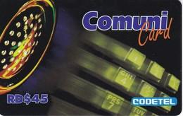 TARJETA DE REPUBLICA DOMINICANA DE COMUNICARD DE CODETEL $45 - Dominicana