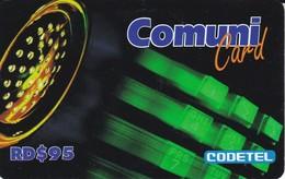 TARJETA DE REPUBLICA DOMINICANA DE COMUNICARD DE CODETEL $95 - Dominicana
