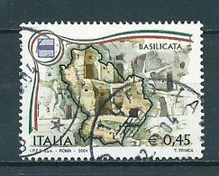 2004 BASILICATA REGIONI USATO - 6. 1946-.. Republic