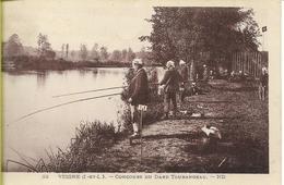 VEIGNE (indre Et Loire) Concours (de Pêche) Du Dard Tourangeau - Other Municipalities