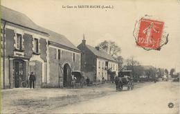 La Gare De SAINTE MAURE (bureau De Poste Auxiliaire, Attelages, Animation...) - Francia