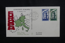 ITALIE - Enveloppe FDC En 1956 - Europa  - L 49884 - 6. 1946-.. Republic