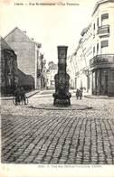 Lier Lierre - Rue St Gommaire - La Fontaine (animatie, J. Van Der Hallen-Verlinden) - Lier