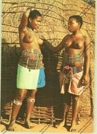 VÖLKERKUNDE / Ethnic - SOUTH AFRICA, Zulu Maidens - África