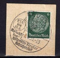 Kartenstueck, EF, SoSt Neuss Schuetzenfest 1938 (89024) - Deutschland
