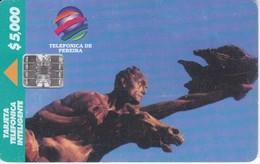 TARJETA DE COLOMBIA DE TELEFONICA DE PEREIRA $5000 - Colombia