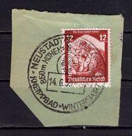 Briefstueck, Saar Kehrt Heim, SoSt Neustadt Schwarzwald 1935 (89027) - Deutschland