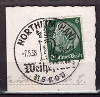 Kartenstueck, EF, SoSt Northeim Weihestaette 1938 (89028) - Deutschland