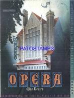 127671 ARGENTINA MAR DEL PLATA GRAN CINE CINEMA TEATRO OPERA PROGRAMA AÑO 1945 NO POSTAL POSTCARD - Argentinien