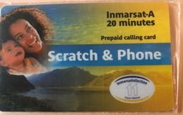 TAAF - Inmarsat A - Prepaid Calling Card - Scratch § Phone - TAAF - Territori Francesi Meridionali