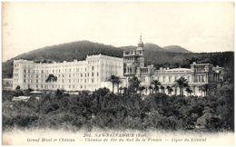 83 SAN-SALVADOR - Grand Hotel Et Chateau - Chemins De Fer Du Sud De La France - Ligne Du Littoral - Frankrijk