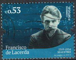 Portugal 2019 Oblitéré Used Francisco De Lacerda Maestro Chef D'Orchestre SU - 1910 - ... Repubblica