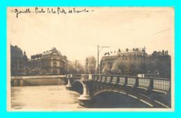 A796 / 383 38 - GRENOBLE Carte PHOTO Pont De La Porte De France - Grenoble