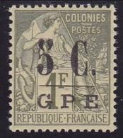 Guadeloupe N° 11 Neuf **  VARIETE Filet Très Mince- Voir Verso & Descriptif - - Neufs