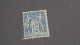 LOT 485347 TIMBRE DE FRANCE NEUF* N°101 VALEUR 35 EUROS - 1876-1898 Sage (Type II)