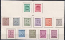 Duitsland Zones Kleine Verzameling *, Zeer Mooi Lot K1057 - Timbres