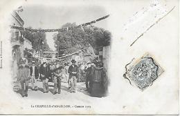 LA CHAPELLE D'ANGILLON - COMICE 1903 - BELLE ANIMATION - CARTE  INEDITE SUR DELCAMPE - EDIT. BOUREUX HENRICHEMONT - Autres Communes