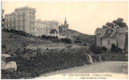 83 SAN-SALVADOR - L'hotel, Le Chateau - Frankrijk