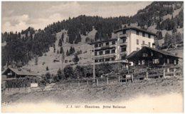 VD CHESIERES - Hotel Bellevue - VD Vaud