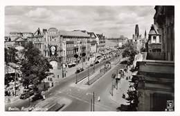 Allemagne Berlin Kurfurstendomm Affiche Air France Sur La Façade Pub Publicité  Guerre 1939 1945 Ruines - Non Classés