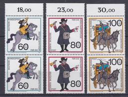 Duitsland Kleine Verzameling 1989 Nr 1269/71 **, Zeer Mooi Lot Krt 4828 - Timbres